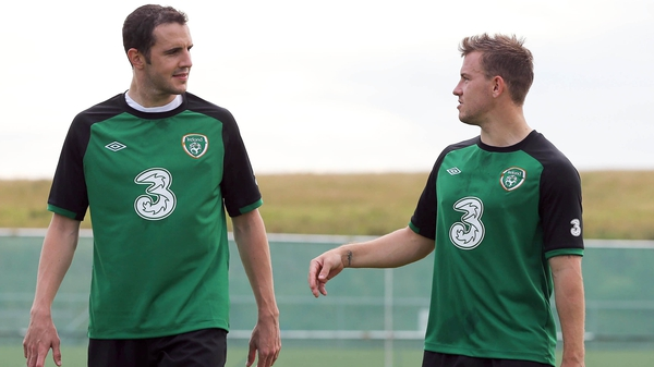 John O'Shea and Simon Cox both started and were substituted while on club duty at the weekend