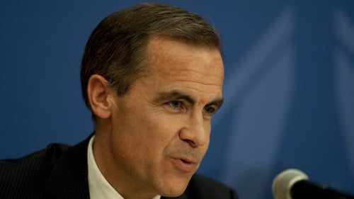 Bank of England's Mark Carney said the UK economy had more momentum than the bank would have expected