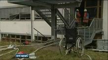 Workshop fire kills 14 in Germany