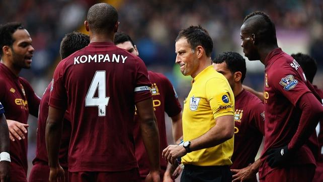 Mark Clattenberg will return to duty as a referee tomorrow