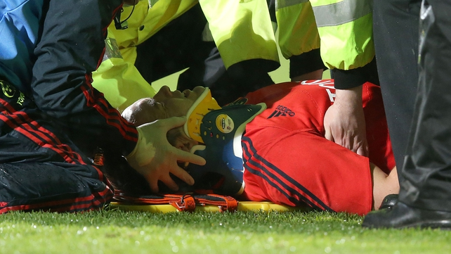 Niall Ronan's injury is not as serious as first thought