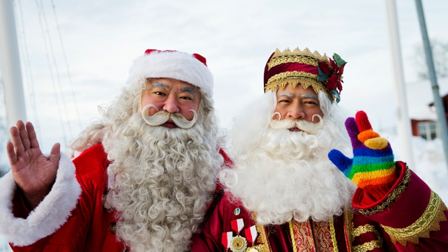 Japanese Santa Claus Academy trains wannabe Santa's helpers