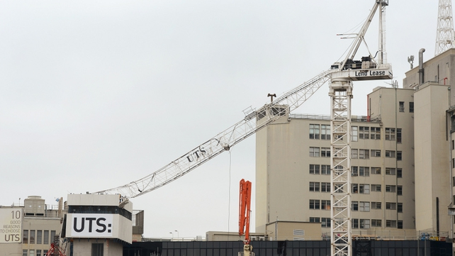 Crane operator managed to escape uninjured