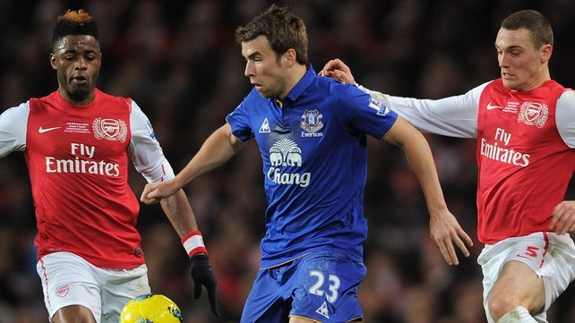 Seamus Coleman has made 61 appearances for the Toffees since joining in 2009