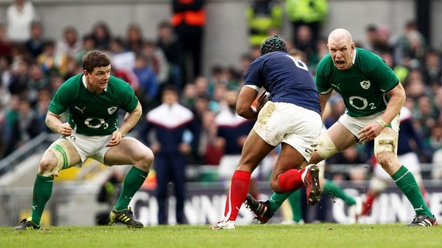 Brian O'Driscoll and Paul O'Connell are in danger of losing their starting places on the Irish team