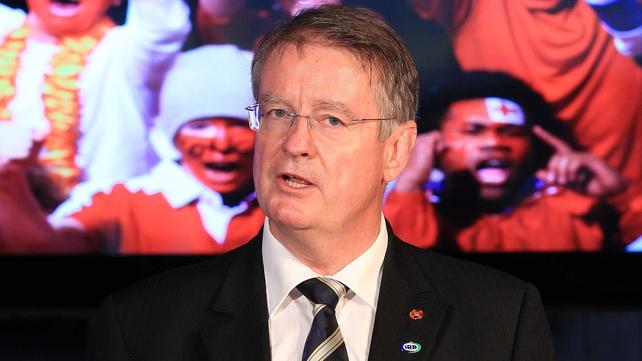 Bernard Lapasse welcomed UAE to full member status