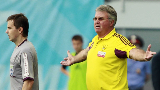 Could Guus Hiddink Guus Hiddink be next in at Barcelona