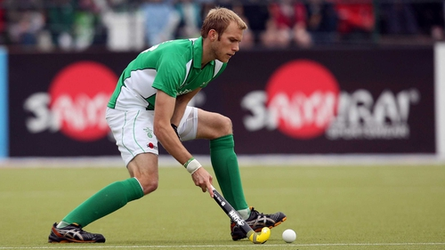 Conor Harte levelled for Ireland at 2-2, before England's late winner