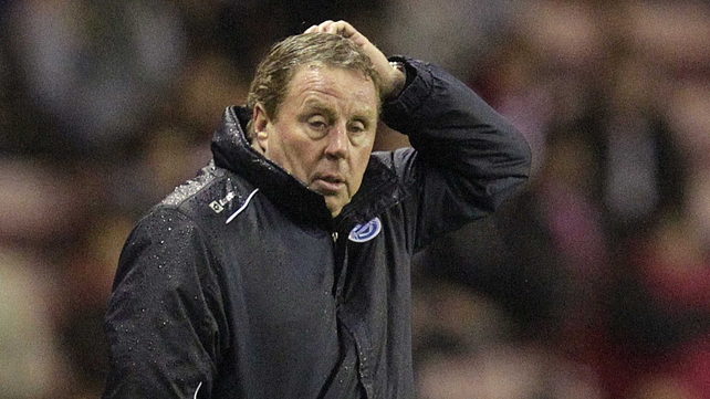 Harry Redknapp secured his first point as QPR boss last night