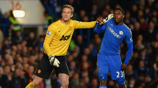 Anders Lindegaard will start Manchester United's final game under Alex Ferguson