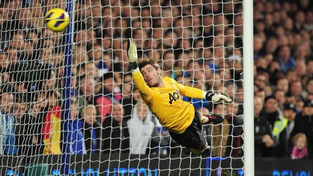 David de Gea will return to action tonight against West Ham