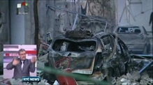 Two car bombs explode in Damascus, Syria
