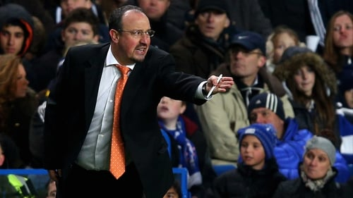Rafael Benitez has hit out at Marco Materazzi's claims