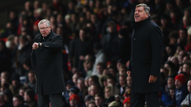 Sam Allardyce locks horns with Alex Ferguson tonight