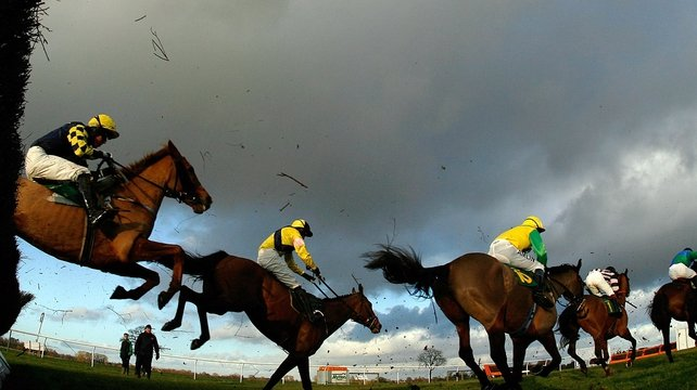 The ground remains heavy at Limerick as they beat the elements for the return of National Hunt racing