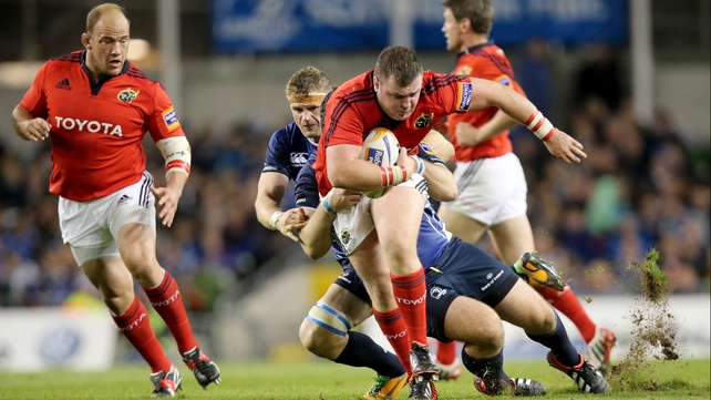 Munster's newest Ireland international, Dave Kilcoyne, returns to the pack