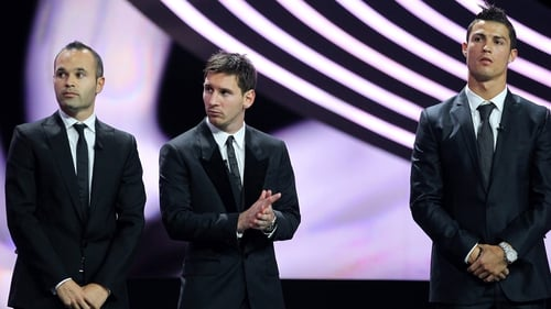 These three usual suspects will, once again, be getting the fine threads out for the Ballon d'Or event