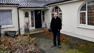 Andrew Bradshaw had been locked out of his home in Mullingar (Pic: Jon McCauley)