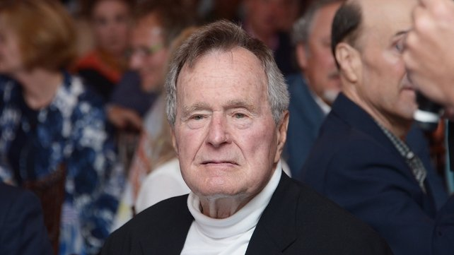 George HW Bush was US President from 1989 to 1993