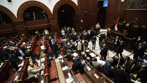 Egypt's assembly spent 19 hours voting on the draft constitution