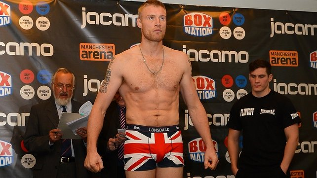 Flintoff completes his transition from cricket to professional boxing when he takes on Richard Dawson in Manchester