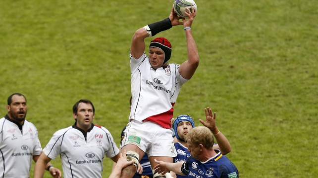 Johann Muller is ruled out for Ulster with an arm injury