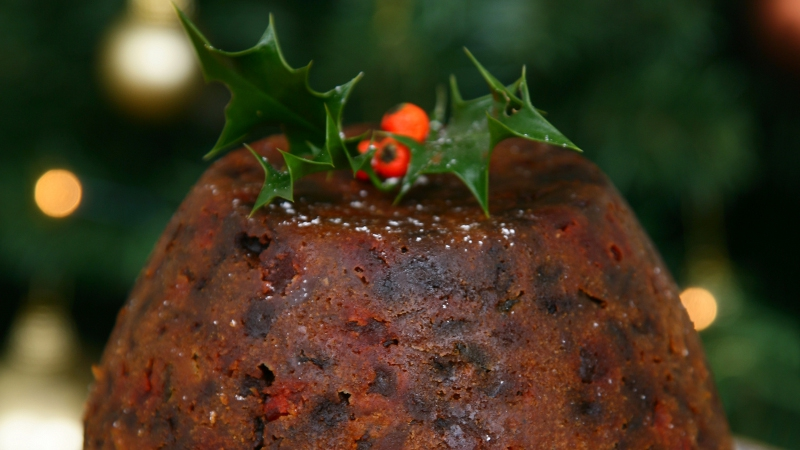 Edward hayden christmas pudding