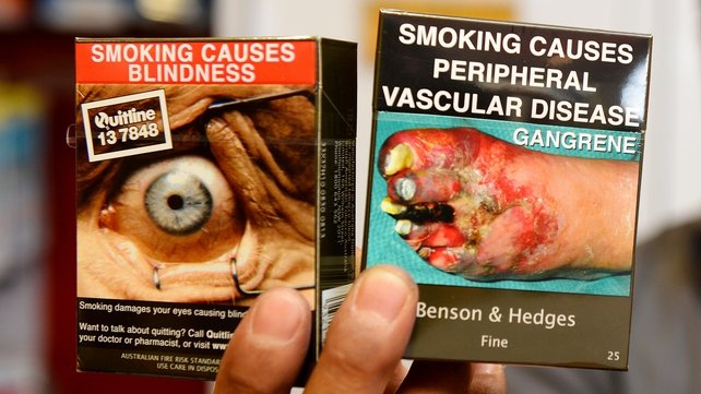 Australia introduced plain-packaging rules earlier this month