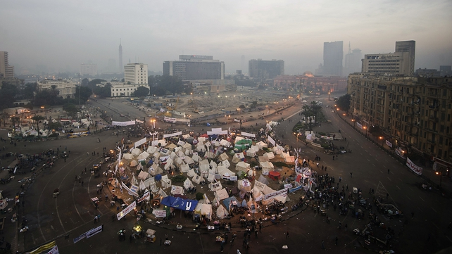 Protests have been taking place around Egypt both for and against President Mohamed Mursi