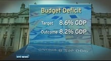 Budget deficit expected to be ahead of target