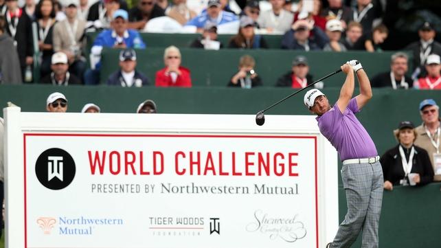 Graeme McDowell shot a a bogey-free third round