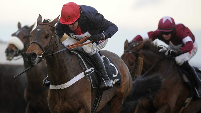 First Lieutenant finished in third behind Gold Cup winner Bobs Worth in this season's  Hennessy Gold Cup  at Newbury