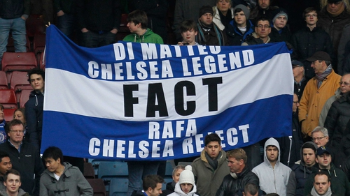 Chelsea fans have voiced their disapproval over the appointment of Rafael Benitez