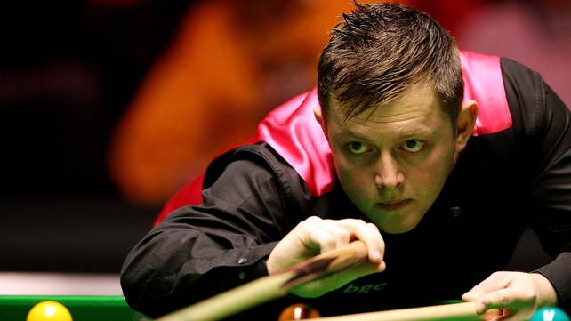 Mark Allen was almost powerless to stop Ding Junhui beating him in Galway this afternoon