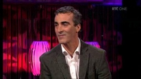 Donegal manager Jim McGuinness talks to Brendan O'Connor
