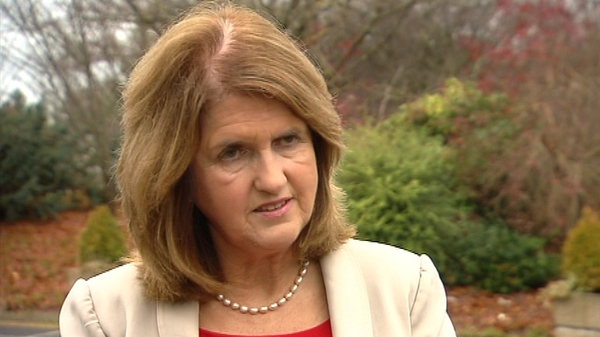 Joan Burton said that coalition discussions on the Budget were intense