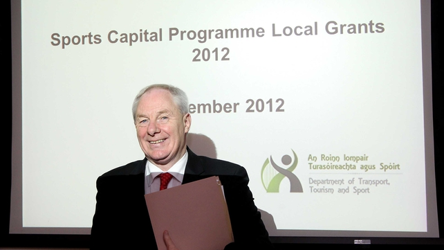 Minister of State for Tourism and Sport Michael Ring has so far allocated €26m of the €30m programme