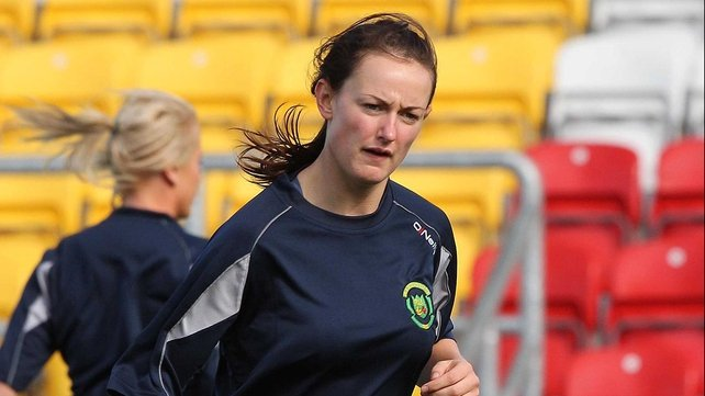 Claire Kinsella put Peamount ahead at Ferrycarrig today