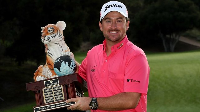 The trophy may not take pride of place on his mantelpiece, but Graeme McDowell is a relieved man
