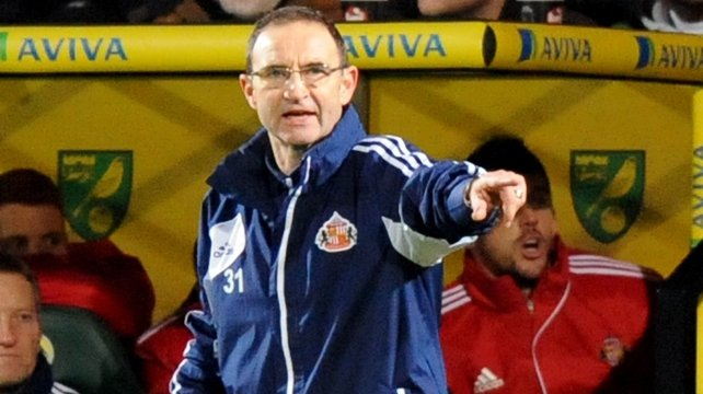 Sunderland have sacked their manager Martin O'Neill