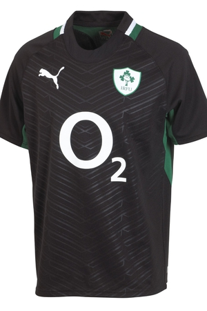Mens IRFU alternate jersey, €65, available in store and online at lifestylesports.com.