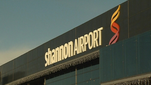 The woman was given a three-month suspended sentence for trespassing at Shannon Airport