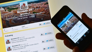 The Pope's Twitter handle has been announced as @pontifex