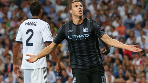 Edin Dzeko: 'In the Champions League we didn't play like we wanted'