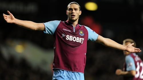 Andy Carroll scored seven goals in 26 league appearances for West Ham last season