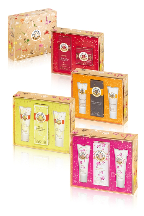 Roger & Gallet Christmas 2012 Coffrets €39 each