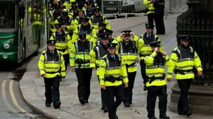 Alan Shatter did not say how many gardaí would be recruited