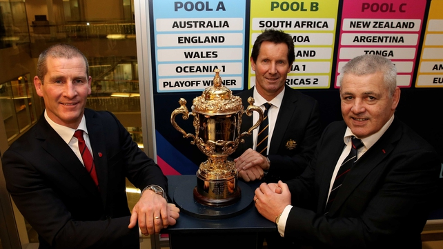 Stuart Lancaster's, Robbie Deans' and Warren Gatland's sides will engage in warfare in Rugby World Cup Pool A in 2015