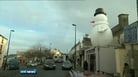 Missing snowman returns to Wicklow shop