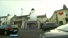Missing inflatable snowman found in Wicklow